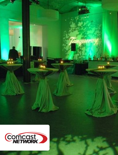 Comcast Network: Green Tie Ball In Chicago