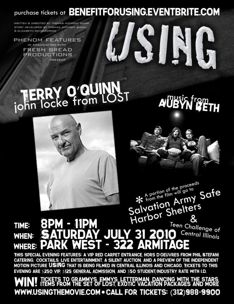 An Evening with Terry O'Quinn (Emmy Nominee and character John Locke from ABC's Lost)