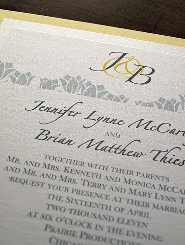 You're cordially invited….to Fabulous invitations!