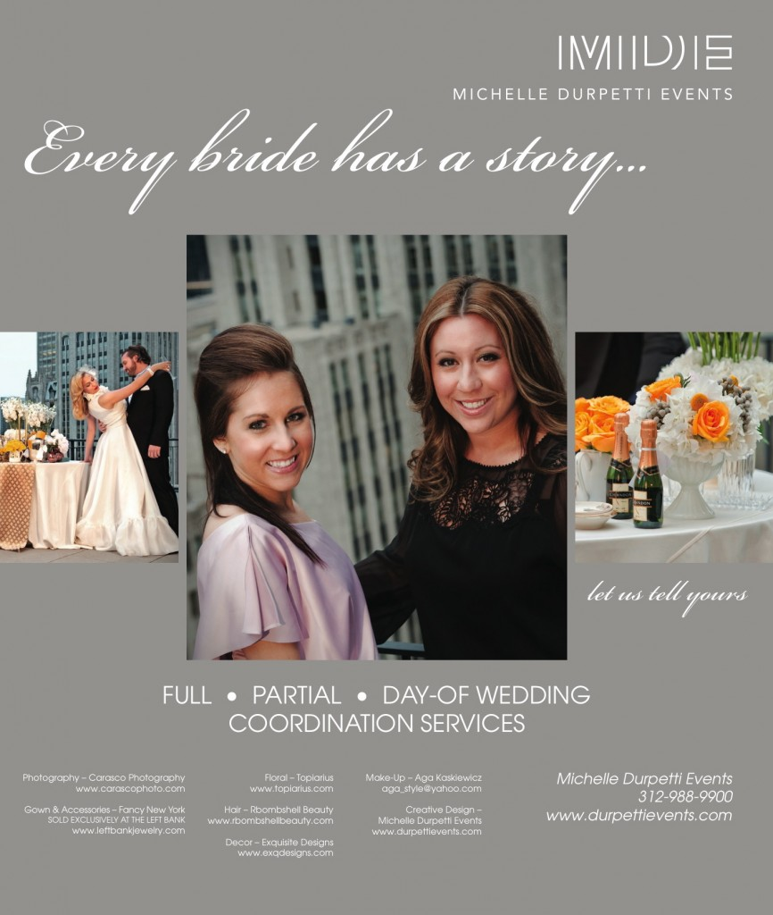 Our new ad in Chicago Social Brides!