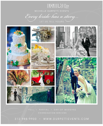 Check out our newest ad in Chicago Social Brides!