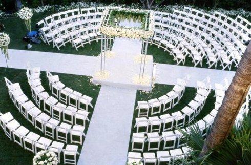 Wedding in the Round!