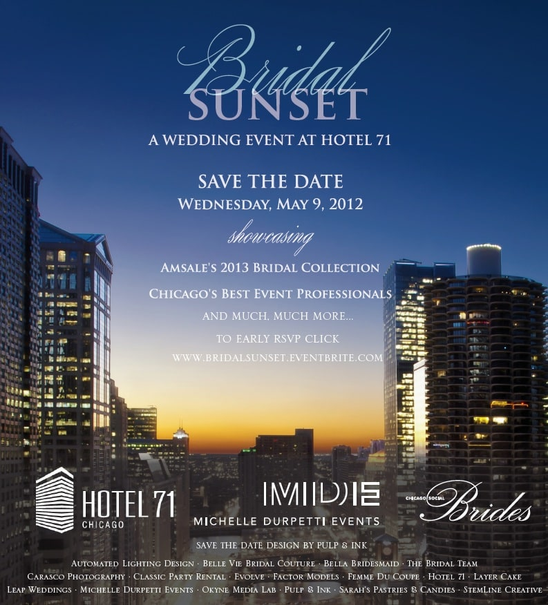 Bridal Sunset- A Wedding Event at Hotel 71!