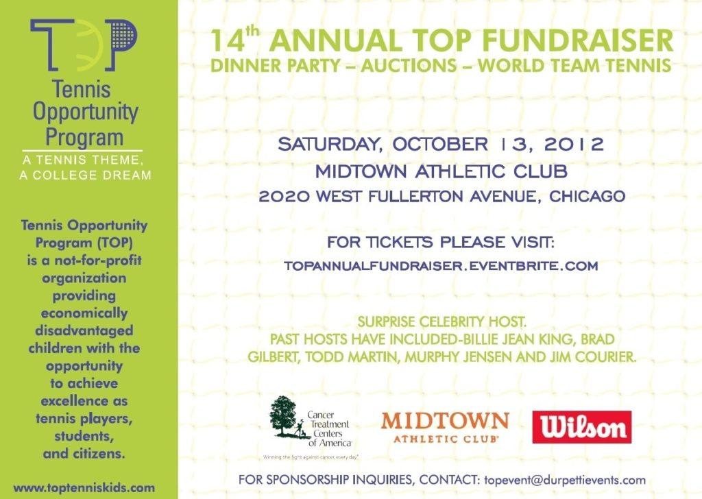 Tennis Opportunity Program's 14th Annual Fundraiser