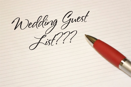 Guest List Drama!