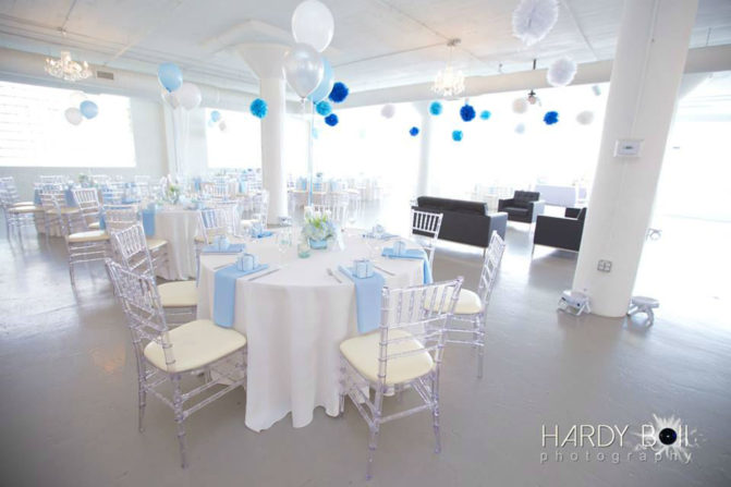 beautiful and simple linens made this spring baby shower simple, elegant and celebratory! Photo courtesy of Hardy Boii Enteratinment