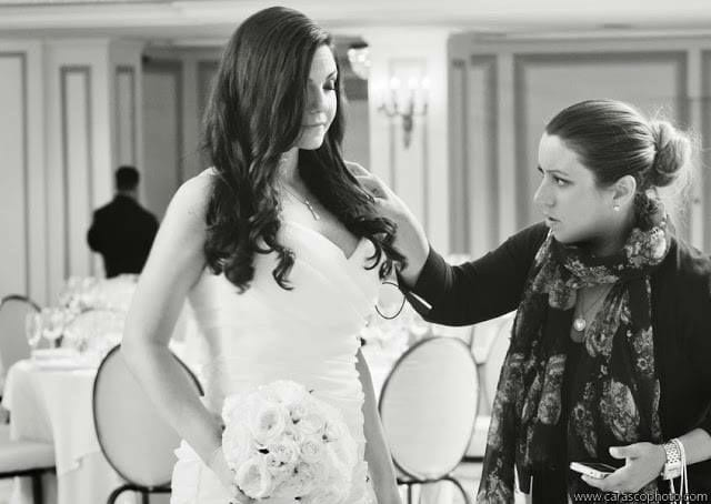 we work hard to make ALL of the details of your day flow beautifully, and are here for you! Christa + Michelle, courtesy of Carasco Photography