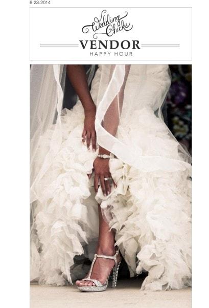 MDE featured on Wedding Chicks website!