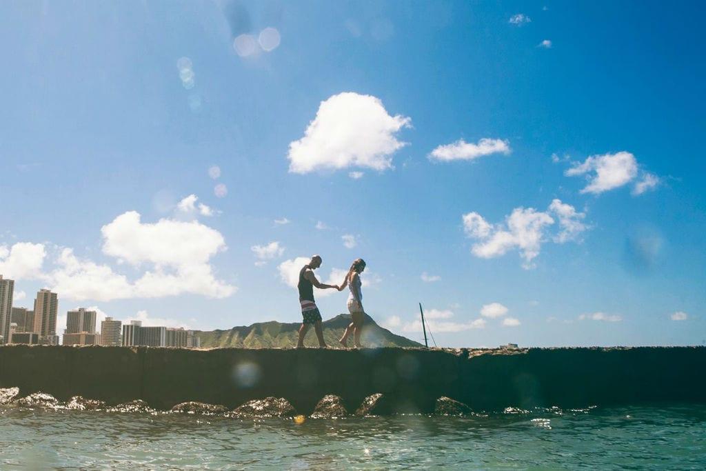 DESTINATION WEDDING: MDE jet sets off to Hawaii for Sarah  + Garrett's wedding day!