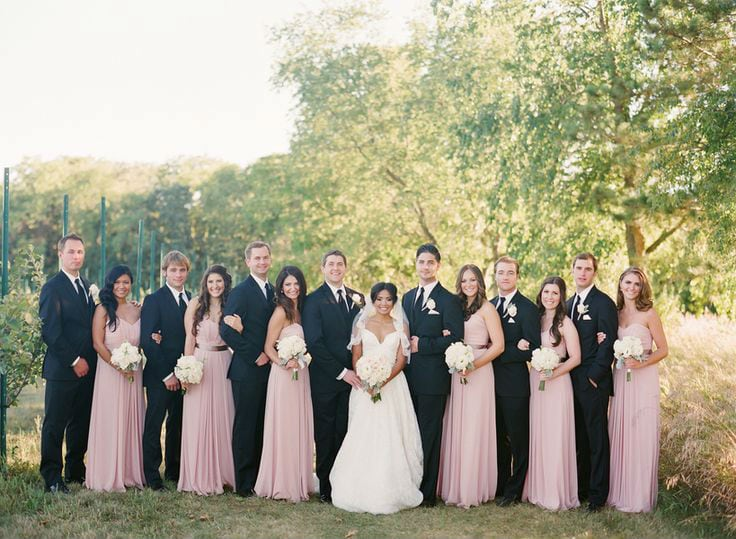 Alex + Julianne featured in Inside weddings!