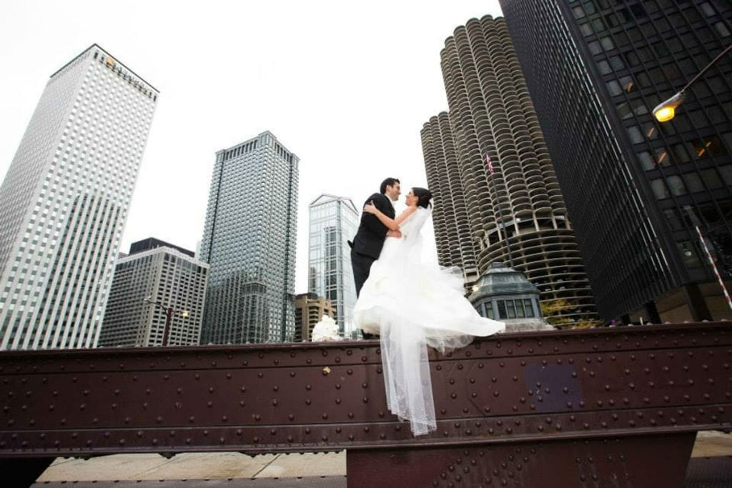 Lowes Chicago O'Hare Hotel Wedding – Stefania & Giancarlo featured in Modern Luxury Brides!