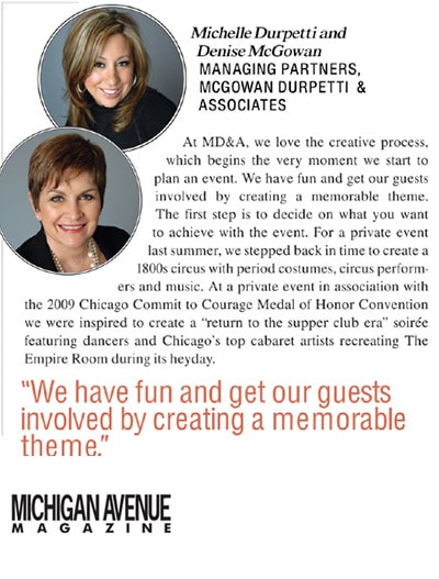 Michigan Avenue Magazine: Secret Sauce