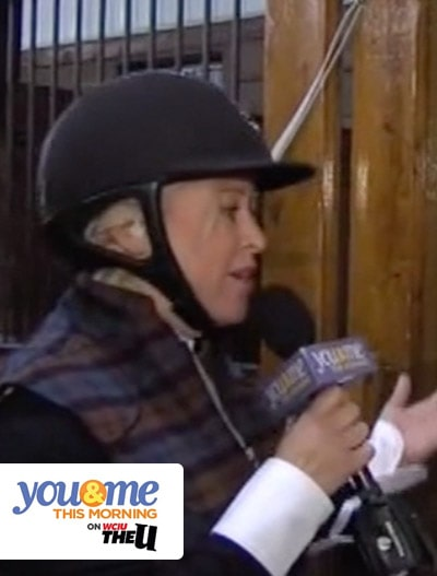 You and Me This Morning WCIU : Chicago Hunter Derby
