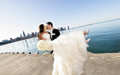 Featured Wedding: Chicago in the Spring
