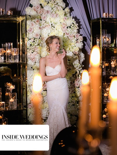 Inside Weddings : Celebratory Wedding Shoot with Elegant & Romantic Decor in Chicago