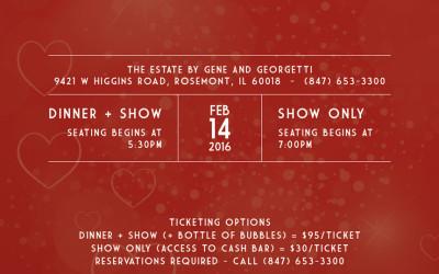 A Fine Romance, A Valentine's Day Special Event | Dinner + Cabaret Show