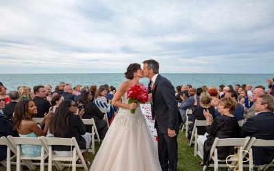 The Promontory Point Wedding