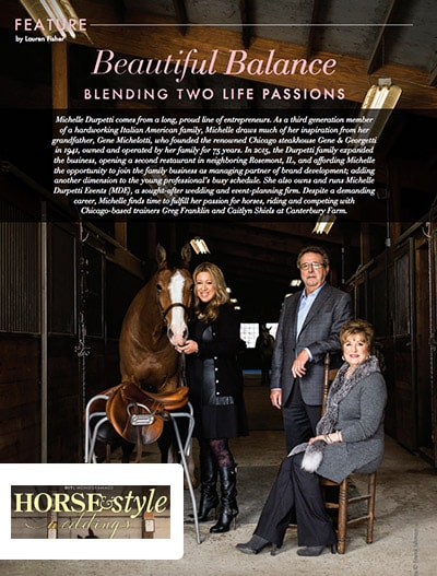 Horse and Style Weddings: Blending two life passions