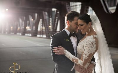 Marc + Angelica's Exquisite Winter Wedding