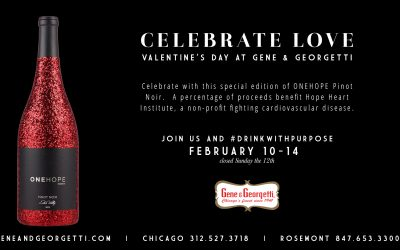 This Valentine's Day #drinkwithpurpose