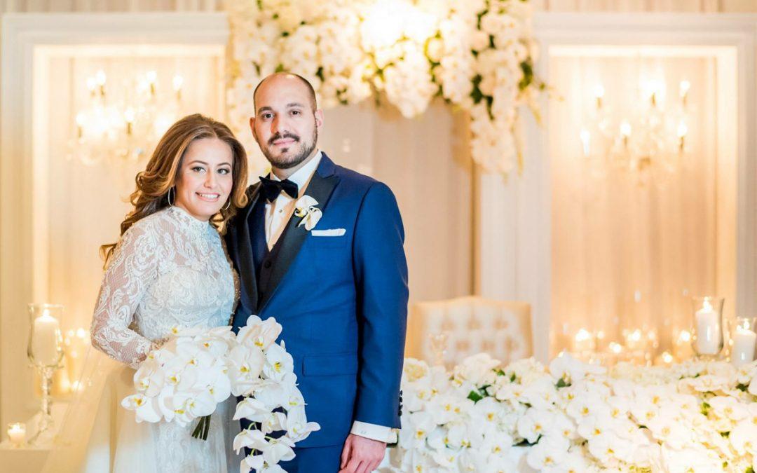 Christina + Kosta's Wedding at The Empress