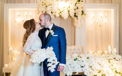 Christina + Kosta  Featured On Inside Weddings!