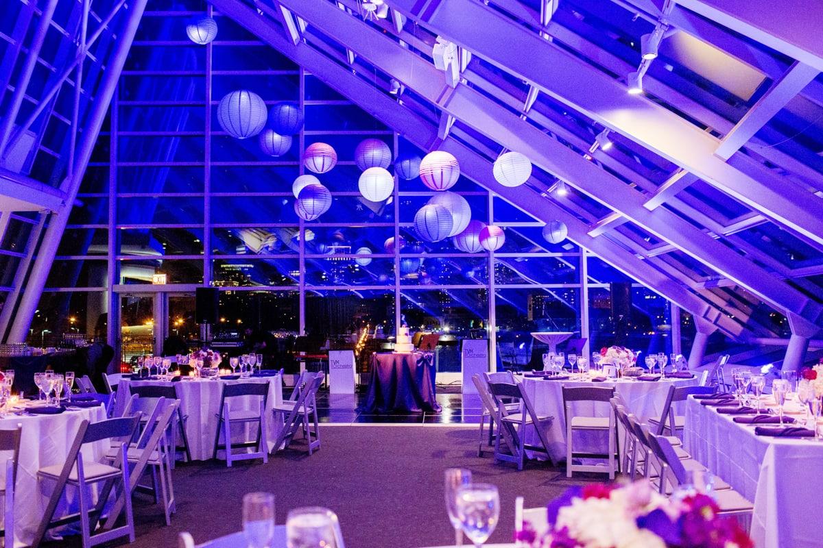 Adler Planetarium Wedding.Rebecca Eric Adler Planetarium Chicago Wedding Durpetti 58