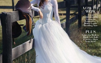 Modern Luxury Weddings Feature Michelle + Collin!