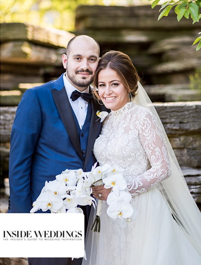 Inside Weddings: Traditional Greek Orthodox Ceremony + Ballroom Reception in Chicago