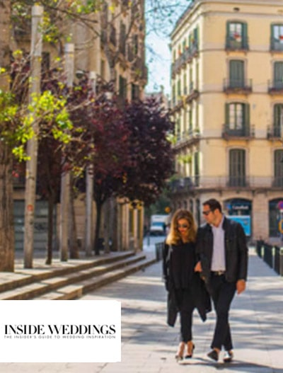 Inside Weddings: Be Inspired by a Destination Engagement Shoot in Barcelona