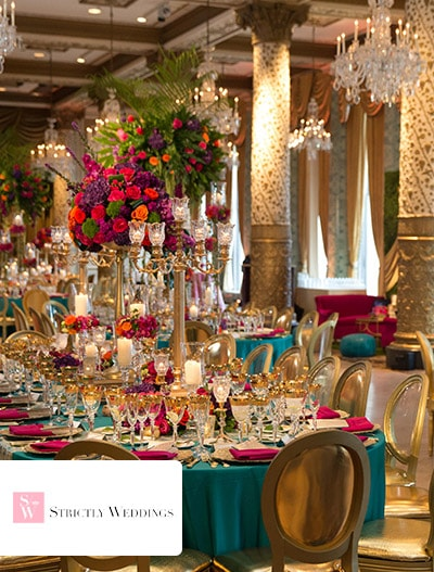 Strictly Weddings: Moroccan Theme Meets Luxury Wedding