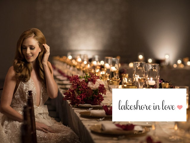 Lakeshore In Love Features Our Styled Shoot!