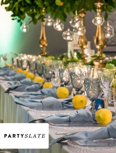 PartySlate: 'Lunch In Capri' Wedding Planner Luncheon