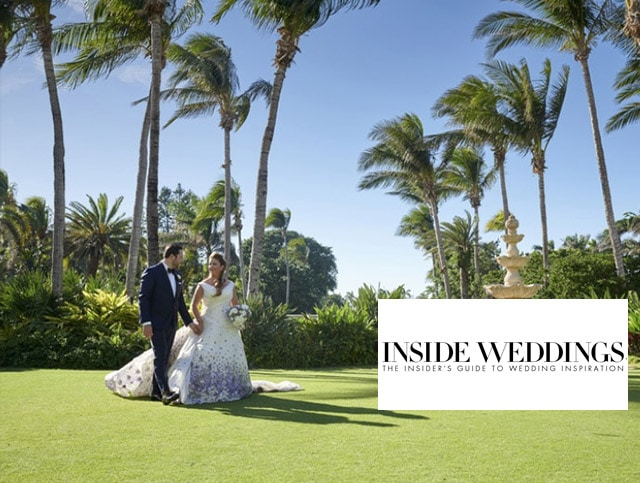 Inside Weddings Features Michelle's Wedding!