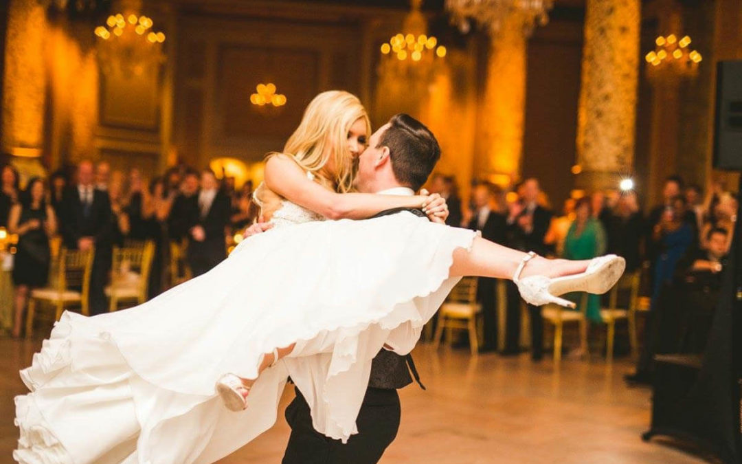 Warm Up With Kayla & Terry's Spring Wedding Featured In Inside Weddings