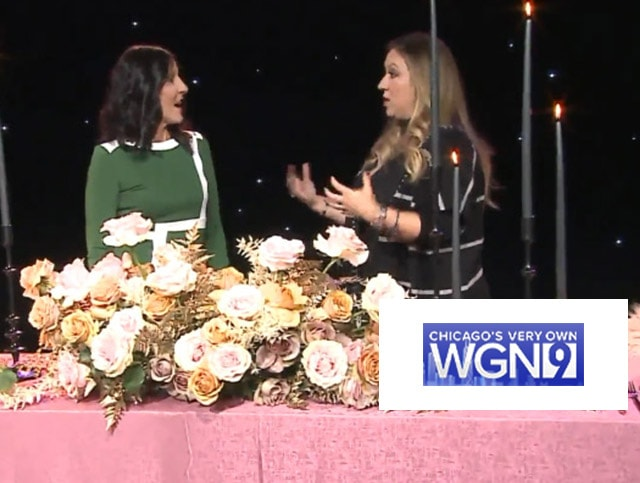 2019 Wedding Trends, Michelle on WGN News!