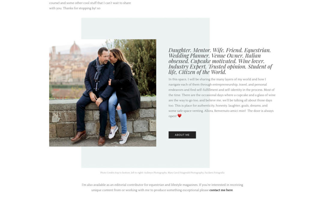 Big News!  Michelle Launches Lifestyle Website, Blog