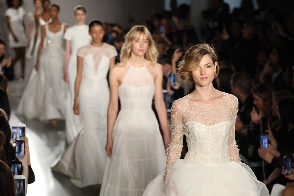 ec89553dc917 New York Bridal Fashion Week, Spring 2019, Day 2 - Michelle Durpetti ...