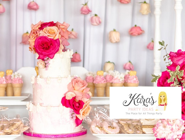 Our Beautiful Pink Baby Shower Is Featured!