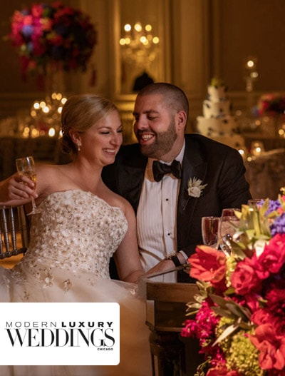 Modern Luxury Weddings : MDE Couple, Liz & Travis