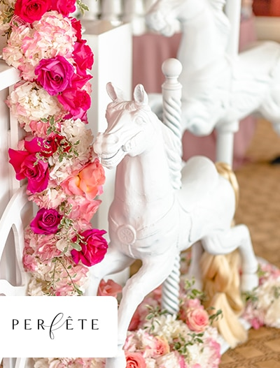 Perfete: Flowery Pink Baby Shower