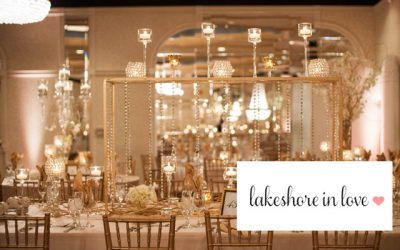 Gianna & Tony's Winter Wedding Featured on Lakeshore In Love