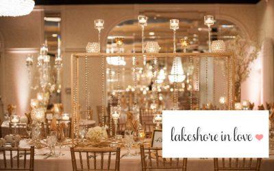 Gianna & Tony's Winter Wedding Featured on Lakeshore In Love