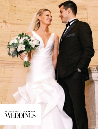 Modern Luxury: Melissa & Matthew