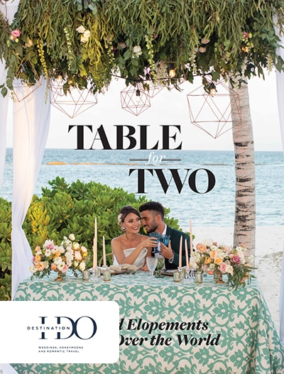 Destination I Do: Table For Two