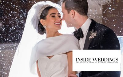 Raquel and Carl's Winter Chicago Wedding Is Featured