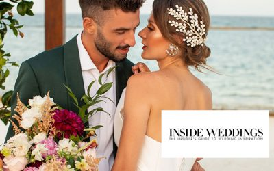 Our destination wedding shoot in Mexico featured in Inside Weddings