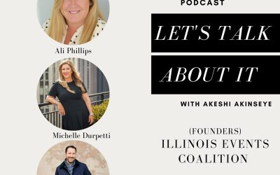 "Michelle on ""Let's Talk About It"" with Akeshi Akinseye"