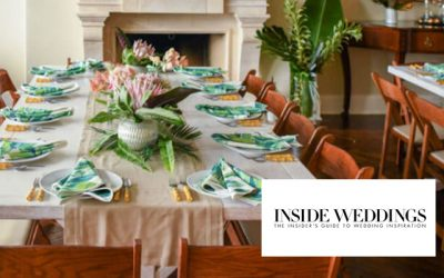 Intimate & Chic, Celebrating At Home Never Looked So Good