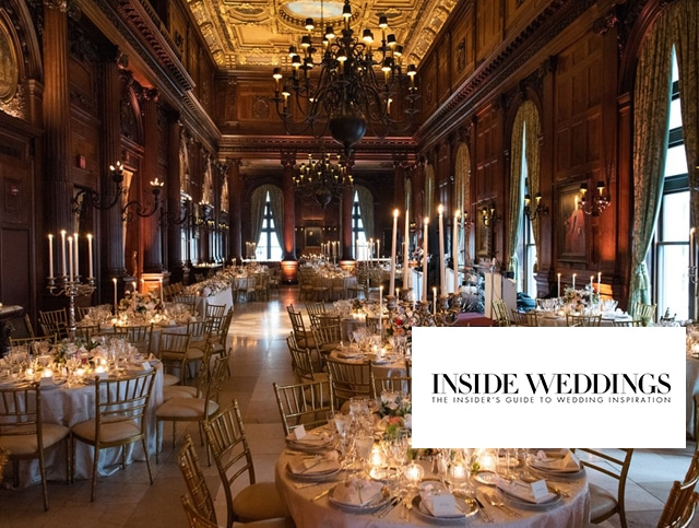 Our beautiful NYC wedding is featured in Inside Weddings